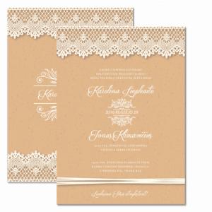 vestuviniai kvietimai rustic