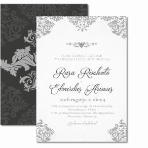 vestuviniai kvietimai dvipusiai