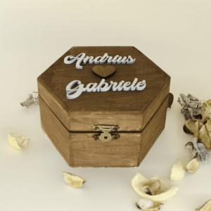 šešiakampė dėžutė