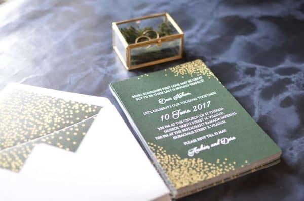 Vestuvinis kvietimas elegantiškai