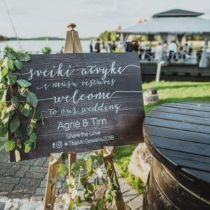 svečių pasitikimo plakatas vestuvėms