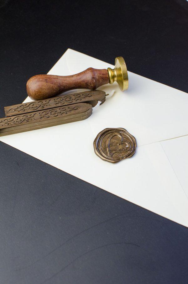 vaško lazdelė antspaudui