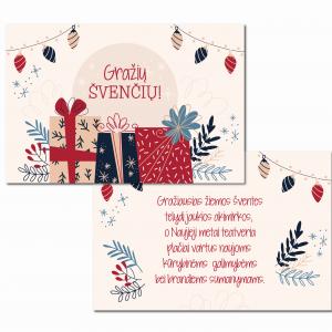 kalėdiniai atvirukai sveikinimai