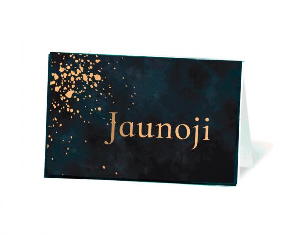 vestuvių stalo vardo kortelė